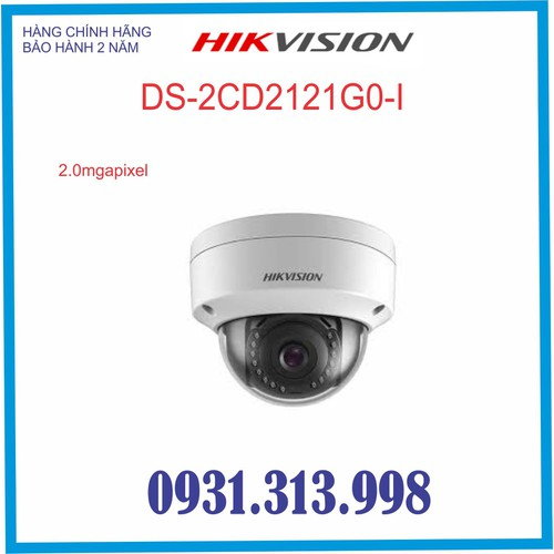 CAMERA IP HIKVISION DS-2CD2121G0-I