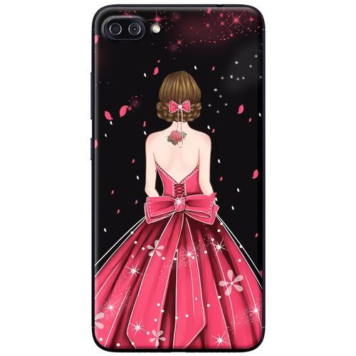 Ốp lưng nhựa dẻo Asus Zenfone 4 Max ZC520KL Váy hồng