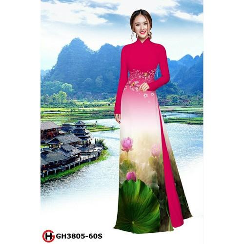 vải bộ áo dài hoa sen - 6755659 , 13450569 , 15_13450569 , 320000 , vai-bo-ao-dai-hoa-sen-15_13450569 , sendo.vn , vải bộ áo dài hoa sen