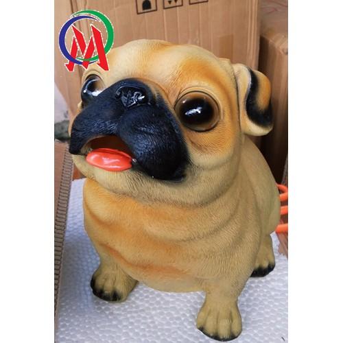 Ống heo tiết kiệm heo chó Khích thước 30 x 30 x 30cm