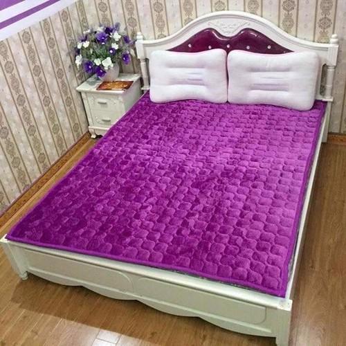 thảm nỉ trải giường