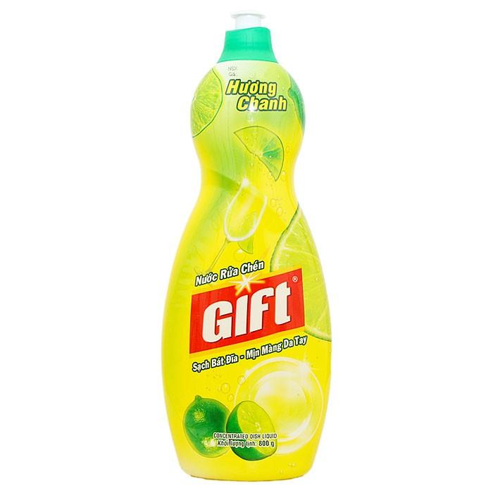 Nước rửa chén Gift hương Chanh 800g