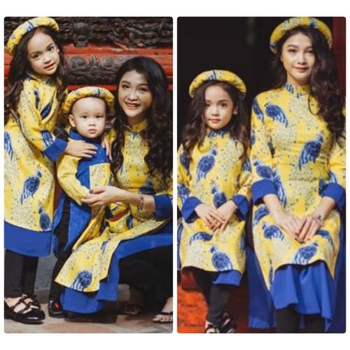 Set áo dài cách tân cho Mẹ và Bé - 6763158 , 13460362 , 15_13460362 , 629000 , Set-ao-dai-cach-tan-cho-Me-va-Be-15_13460362 , sendo.vn , Set áo dài cách tân cho Mẹ và Bé