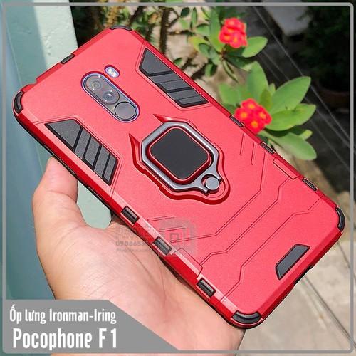 Ốp lưng Xiaomi Pocophone F1 iRON - MAN IRING Nhựa PC cứng viền dẻo chống sốc - đỏ - 6748236 , 13441013 , 15_13441013 , 70000 , Op-lung-Xiaomi-Pocophone-F1-iRON-MAN-IRING-Nhua-PC-cung-vien-deo-chong-soc-do-15_13441013 , sendo.vn , Ốp lưng Xiaomi Pocophone F1 iRON - MAN IRING Nhựa PC cứng viền dẻo chống sốc - đỏ