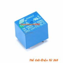 Bộ 5 Relay 5 Chân 10A SRD-24VDC