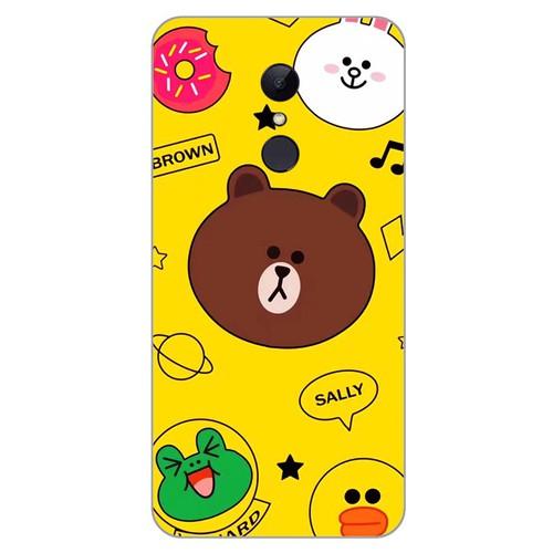 Ốp lưng điện thoại xiaomi redmi 5 plus - brown 12