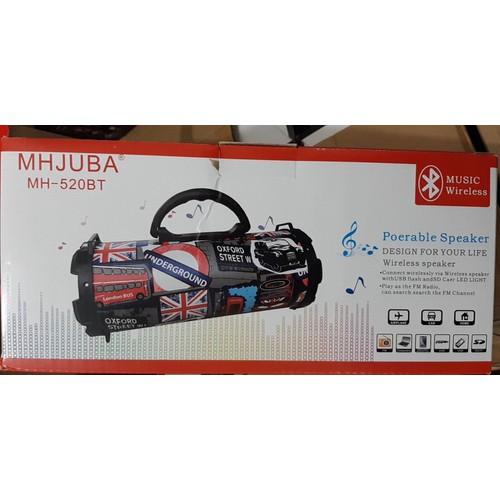 Loa Trống  Bluetooth MH 520 BT- MHJUBA - 4476384 , 13436888 , 15_13436888 , 109000 , Loa-Trong-Bluetooth-MH-520-BT-MHJUBA-15_13436888 , sendo.vn , Loa Trống  Bluetooth MH 520 BT- MHJUBA