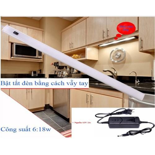 Đèn led cảm ứng vẫy tay lắp tủ bếp tủ quần áo bàn học thông minh dài 600mm bóng led 11w sáng Trắng - 6753885 , 13448350 , 15_13448350 , 340000 , Den-led-cam-ung-vay-tay-lap-tu-bep-tu-quan-ao-ban-hoc-thong-minh-dai-600mm-bong-led-11w-sang-Trang-15_13448350 , sendo.vn , Đèn led cảm ứng vẫy tay lắp tủ bếp tủ quần áo bàn học thông minh dài