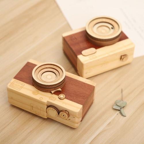 Hộp nhạc máy ảnh gỗ mẫu dài-hộp âm nhạc-hộp nhạc lưu niệm-hộp nhạc quà tặng-hộp nhạc độc đáo-hộp nhạc gỗ - quà tặng lưu niệm - quà tặng hộp nhạc - quà lưu niệm - hộp nhạc gỗ cao cấp