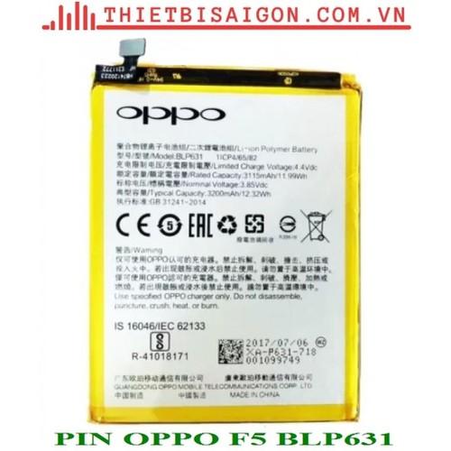 PIN OPPO F5 BLP631