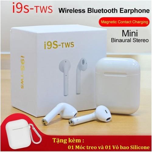 Tai Nghe Bluetooth Không Dây I9S TWS Âm Thanh Cực Hay Tặng 1 Bao Đựng