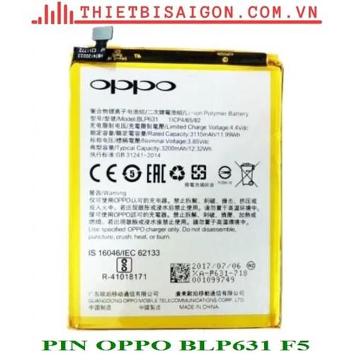 PIN OPPO BLP631 F5