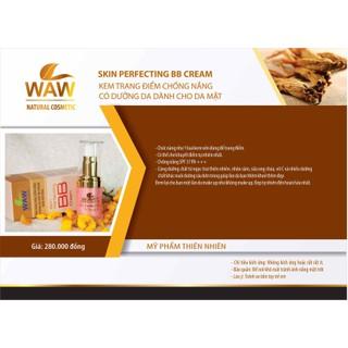 BB chống nắng trang điểm WAW NATURAL dành cho da mặt - BBF668 thumbnail