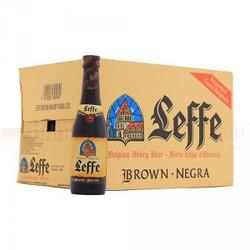 [HCM] Leffe Brune chai 330ml - thùng 24