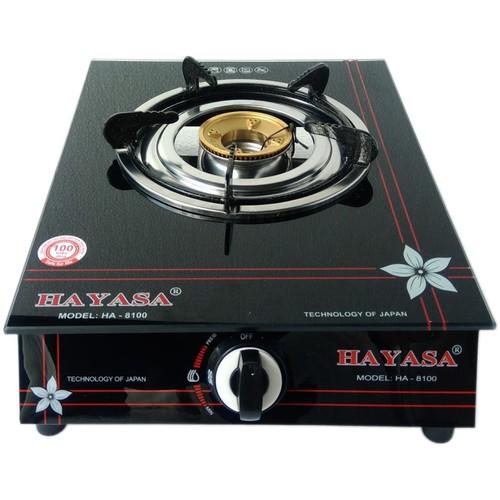 Bếp Gas đơn chén đồng cao cấp nhỏ gọn HAYASA HA-8100