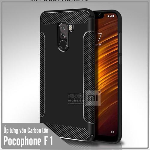 Ốp lưng Xiaomi Pocophone F1 vân Carbon lớn - Nhựa TPU dẻo - đen - 6763658 , 13460918 , 15_13460918 , 50000 , Op-lung-Xiaomi-Pocophone-F1-van-Carbon-lon-Nhua-TPU-deo-den-15_13460918 , sendo.vn , Ốp lưng Xiaomi Pocophone F1 vân Carbon lớn - Nhựa TPU dẻo - đen
