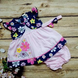 Đầm Bé Gái In Hoa Kèm Băng Đô - QAGD14058 thumbnail