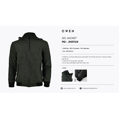 Áo khoác Owen
