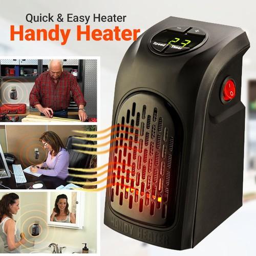 quạt sưởi ấm có hẹn giờ siêu tiết kiệm điện Handy Heater