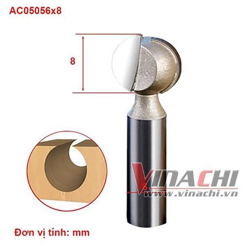 Mũi soi cổ không bi AC0505-6x8