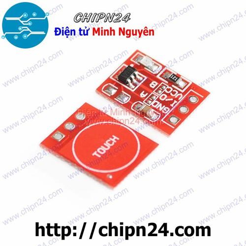 Module TTP223B Mini ĐỎ Bàn phím Cảm ứng 1 chạm điện dung - 6760732 , 13457567 , 15_13457567 , 10000 , Module-TTP223B-Mini-DO-Ban-phim-Cam-ung-1-cham-dien-dung-15_13457567 , sendo.vn , Module TTP223B Mini ĐỎ Bàn phím Cảm ứng 1 chạm điện dung