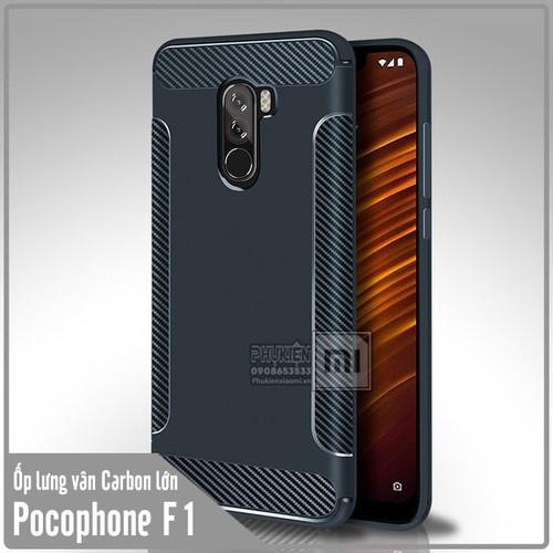 Ốp lưng Xiaomi Pocophone F1 vân Carbon lớn - Nhựa TPU dẻo - xanh đen - 6763767 , 13461110 , 15_13461110 , 50000 , Op-lung-Xiaomi-Pocophone-F1-van-Carbon-lon-Nhua-TPU-deo-xanh-den-15_13461110 , sendo.vn , Ốp lưng Xiaomi Pocophone F1 vân Carbon lớn - Nhựa TPU dẻo - xanh đen