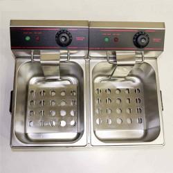 Bếp chiên nhúng điện đôi cao cấp ET-ZL2