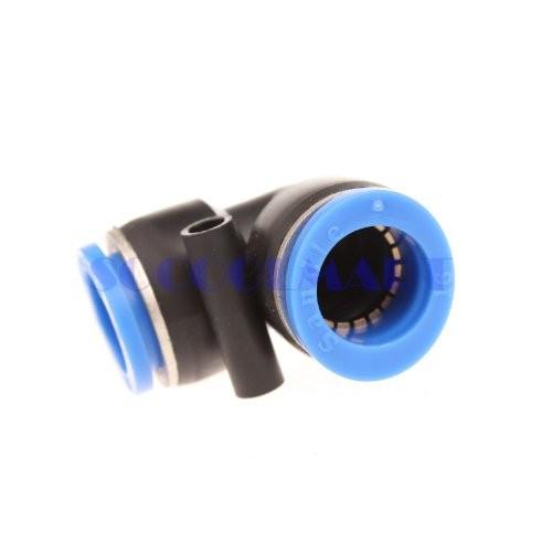 5 Đầu nối hơi Góc  L PV8 - 2 đầu dây hơi, đường kính 8mm - Chính hãng