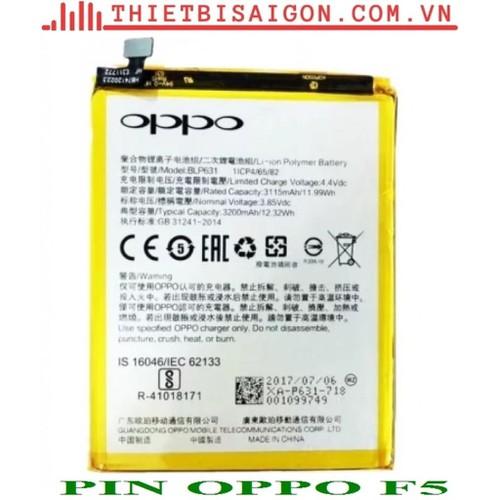 PIN OPPO F5