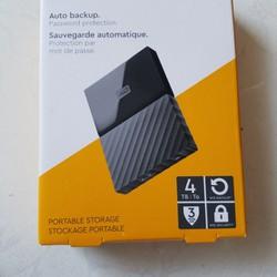 Ổ CỨNG DI ĐỘNG WD DIGITAL MY PASSPORT 4TB Western Digit