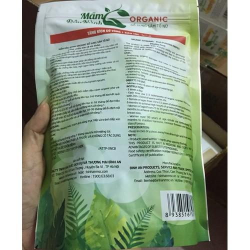 Mầm Đậu Nành Organic Cải Thiện Vòng 1 Siêu Tốc