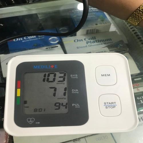Máy đo huyết áp MEDILIFE [nhập khẩu chính hãng ĐỨC] **Y TẾ ĐỨC ANH**