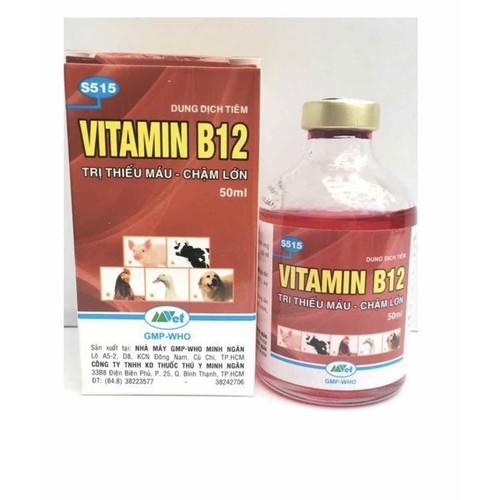 VITAMIN B12 GIẢI ĐỘC CHO CÂY 100ml