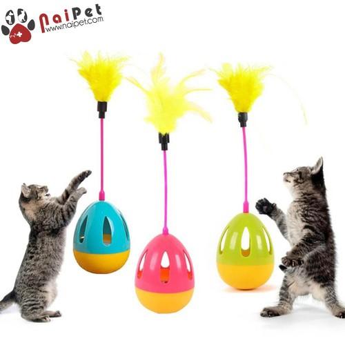 Đồ Chơi Bóng Chuông Lông Lật Đật Cho Mèo Tumbler Cat Toy - 6776276 , 13476025 , 15_13476025 , 72000 , Do-Choi-Bong-Chuong-Long-Lat-Dat-Cho-Meo-Tumbler-Cat-Toy-15_13476025 , sendo.vn , Đồ Chơi Bóng Chuông Lông Lật Đật Cho Mèo Tumbler Cat Toy