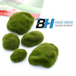 Phụ kiện tiểu cảnh rêu nhân tạo, rêu giả  3cm  (Combo: 2 Cái) (CP28-2-3cm).