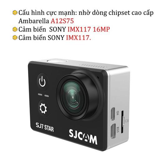 Camera Hành Trình SJCAM SJ7 Star 4K Wifi - Hãng Phân Phối Chính Thức