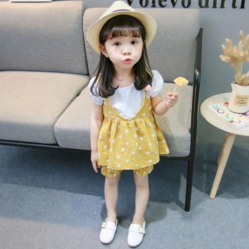 Đồ bộ bé gái từ 1 đến 3 tuổi