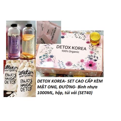 DETOX KOREA Trà hoa quả sấy khô – PKCBMB – SET 40 gói CAO CẤP KÈM MẬT ONG, ĐƯỜNG, full hộp, tặng bình 1L, túi vải - 6785147 , 13486293 , 15_13486293 , 264000 , DETOX-KOREA-Tra-hoa-qua-say-kho-PKCBMB-SET-40-goi-CAO-CAP-KEM-MAT-ONG-DUONG-full-hop-tang-binh-1L-tui-vai-15_13486293 , sendo.vn , DETOX KOREA Trà hoa quả sấy khô – PKCBMB – SET 40 gói CAO CẤP KÈM MẬT ONG,