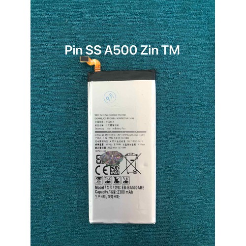 pin Samsung A500 zin theo máy