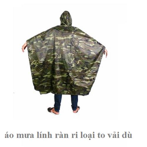 áo mưa lính - 6846336 , 13561603 , 15_13561603 , 187000 , ao-mua-linh-15_13561603 , sendo.vn , áo mưa lính