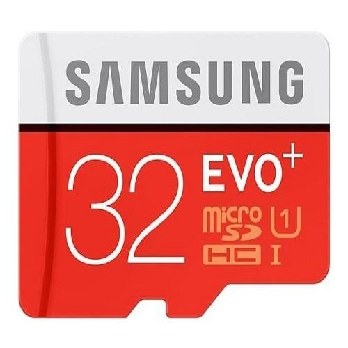 Thẻ nhớ MicroSDHC Samsung EVO Plus 32GB 80MBs Đỏ - Hãng Phân Phối Chính Thức