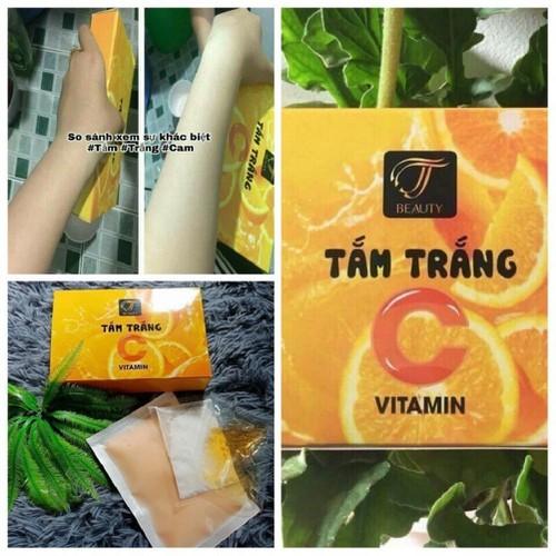 Tắm trắng Cam-Vitamin C