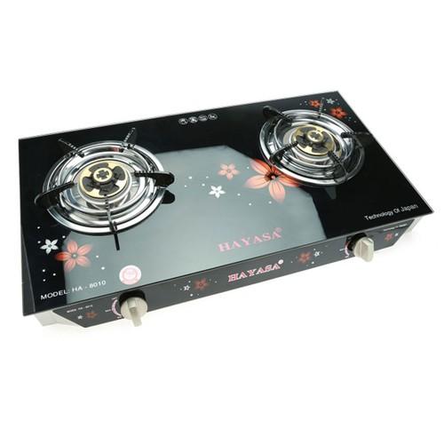 Bếp Gas đôi cao cấp công nghệ Nhật Bản HAYASA HA-8010
