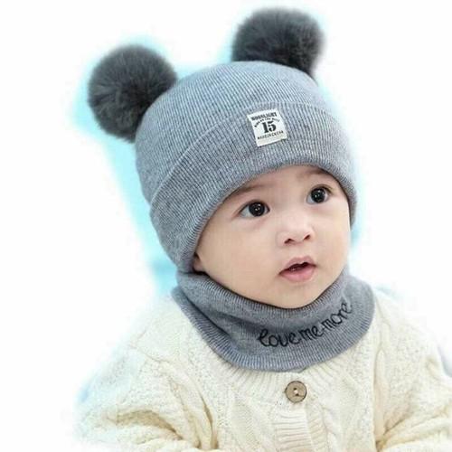 khăn mũ len cho bé