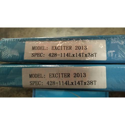 Bộ nhông sên dĩa Recto Exciter 135 - 6778333 , 13478902 , 15_13478902 , 350000 , Bo-nhong-sen-dia-Recto-Exciter-135-15_13478902 , sendo.vn , Bộ nhông sên dĩa Recto Exciter 135