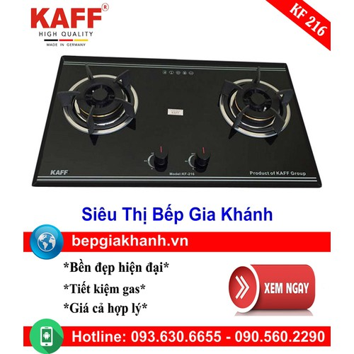Bếp Gas Âm Kaff KF 216