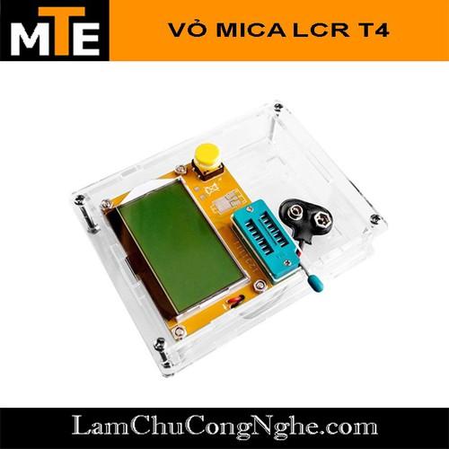 Mạch Test Linh Kiện Điện Tử Đa Năng LCR-T4 Có Vỏ Mica