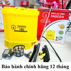Bình xịt điện, bình bơm thuốc sâu, tưới cây Pagoda 18D