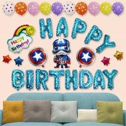 set trang trí sinh nhật cho bé trai