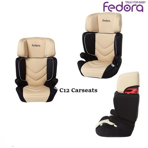 ghế ngồi ô tô cho bé fedora c12 màu kem